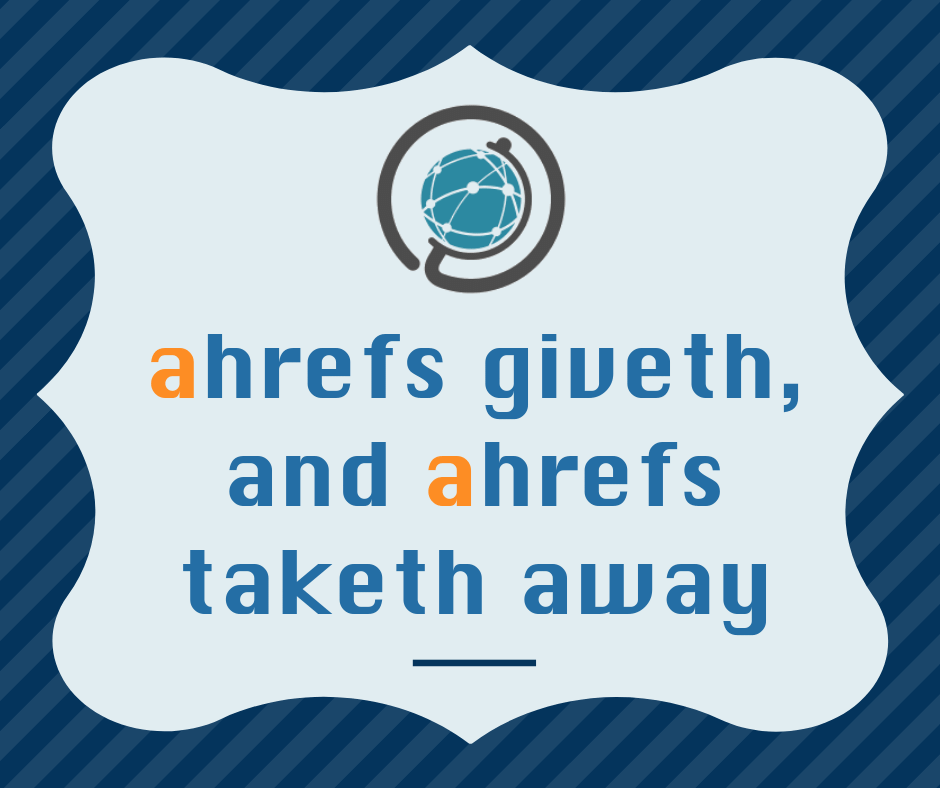 Ahrefs API Issues